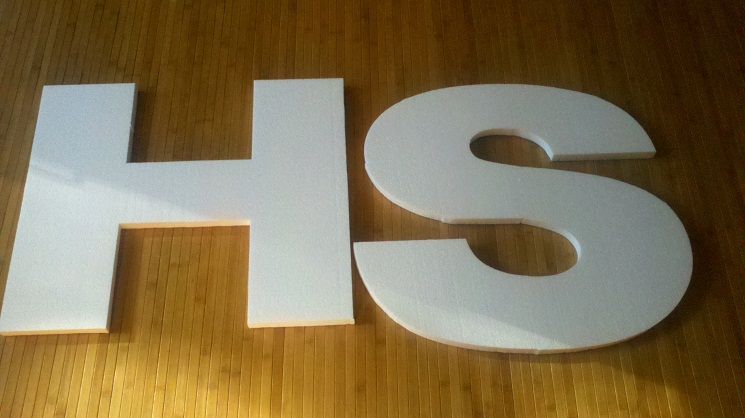 21 diy styrofoam letters guide patterns With how to make large styrofoam letters