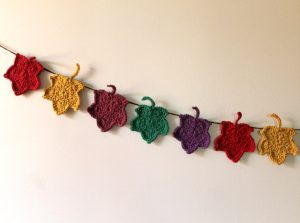 Leaf Garland Crochet Pattern