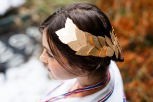 Leaf Hair Garland