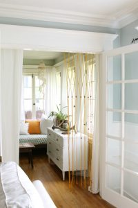Macrame Beaded Curtain