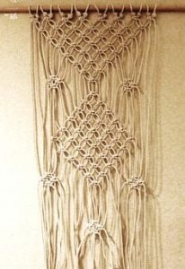 Macrame Curtain Tutorial