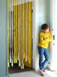 Macrame Curtain Pattern
