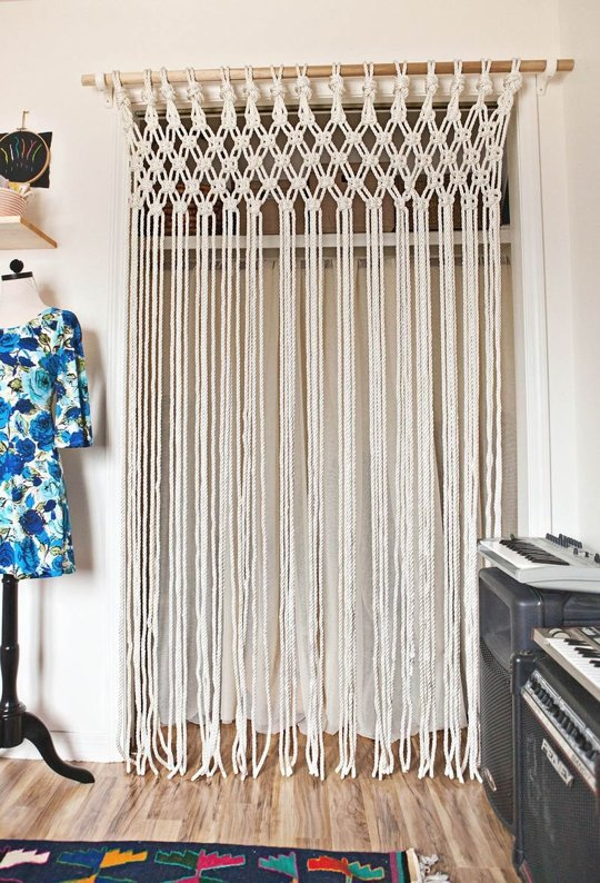 diy patterns for macramé curtains  guide patterns,
