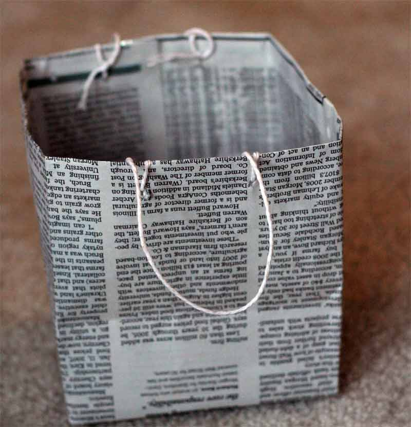 19 Diy Newspaper Bags Guide Patterns