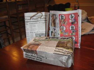 Newspaper Tote Bags