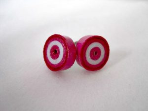 Quilling Earrings Studs