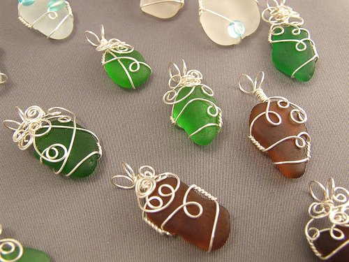 Wire Wrapped Pendants  42 Interesting Designs