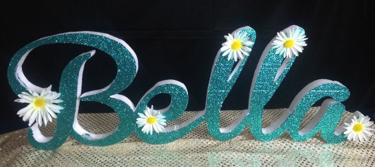 how to make styrofoam letters