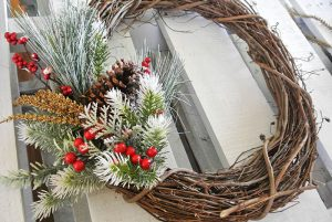 Twig and Berry Wreath
