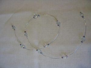 Beaded Wire Garland