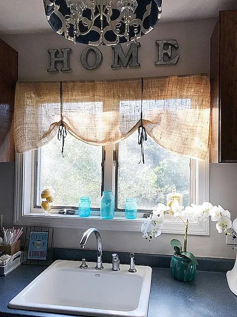 Burlap Valance 16 Unique Diy Patterns Guide Patterns