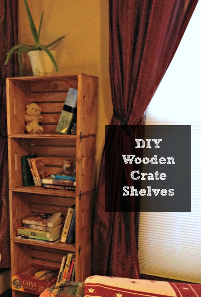 Crate Shelves 25 DIYs