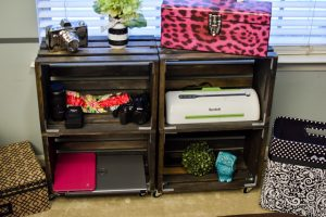 Crate Storage Shelves