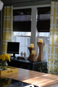 DIY No-Sew Curtains