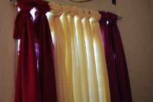 Easy No-Sew Curtain