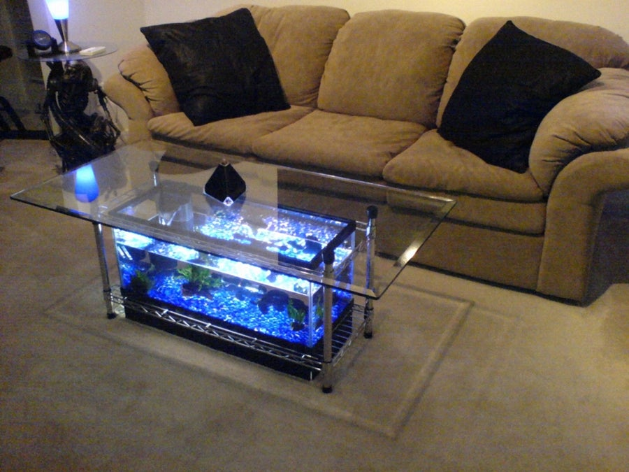 Aquarium Fish Tank Coffee Table 8 Unique Designs Guide Patterns