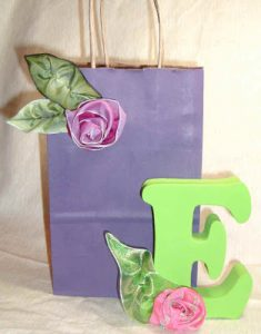 Folded Ribbon Roses