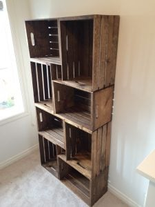 Fruit Crate Shelves