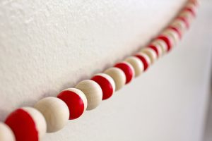 How to Make Beaded Garland