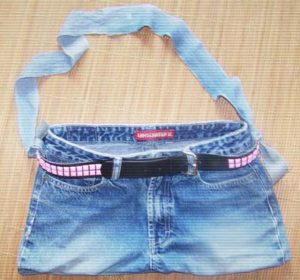 How to Make a Purse Out Of Jeans