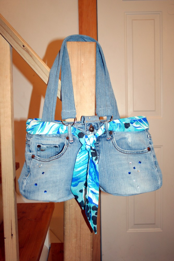 How to Make a Jean Purse 19 DIYs | Guide Patterns