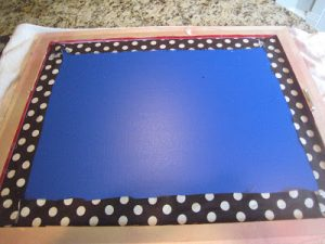 Magnetic Bulletin Board DIY