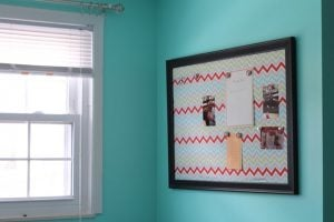 Magnetic Fabric Bulletin Board
