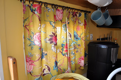 No Sew Curtain For RV