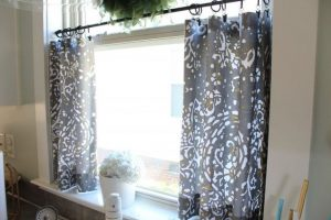No-Sew Kitchen Curtains
