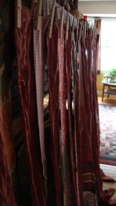 No-Sew Rag Curtain