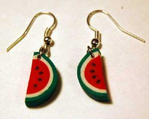 Polymer Clay Christmas Earrings