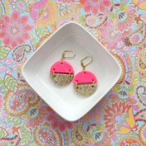 Polymer Clay Earrings Idea