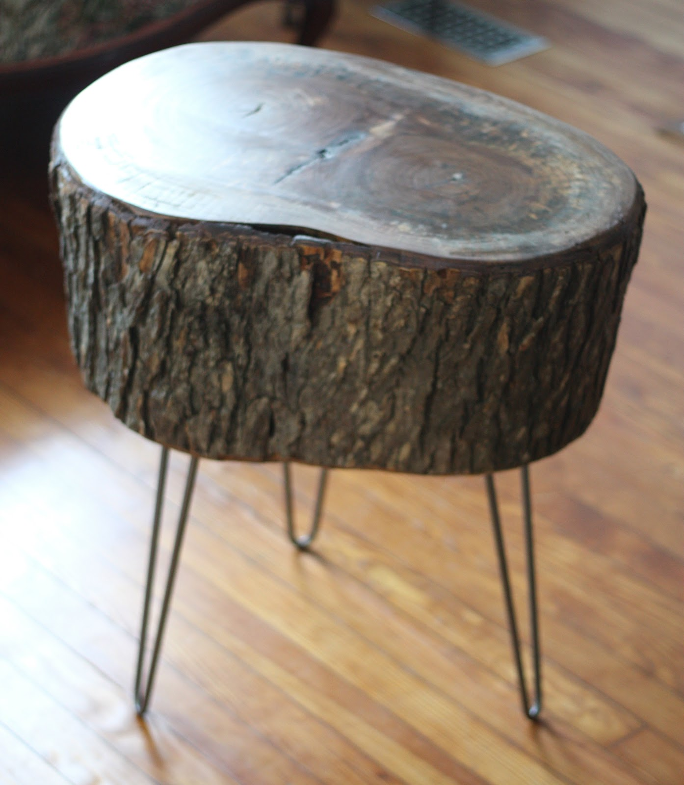 11 tree stump side table designs guide patterns Table making ideas