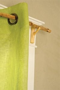 Rustic Branch Curtain Rod