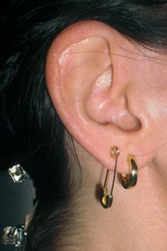 Diy Safety Pin Earring