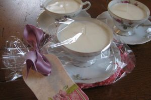 Teacup Candle Favors
