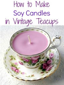 Teacup Soy Candle