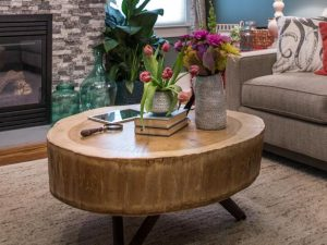 Tree Stump Coffee Table
