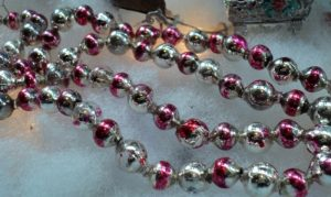 Vintage Glass Bead Garland
