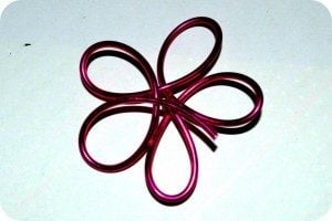 Wire Flower DIY