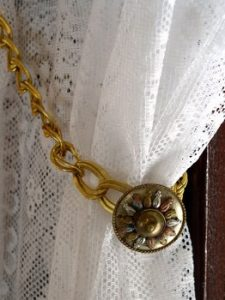 Antique Curtain Tie Back