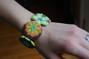 Button Bracelet Elastic