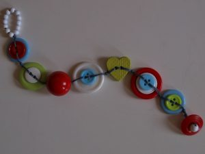 Button Bracelet Pattern