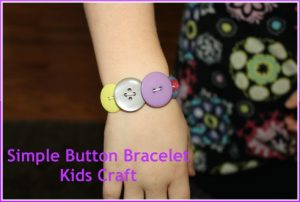 Button Bracelet for Kids