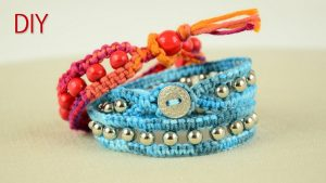 Button Wrap Bracelet
