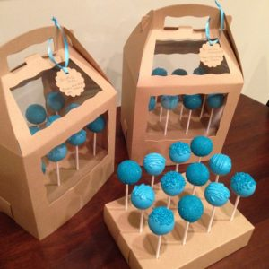 Cake Pop Stands with Covers