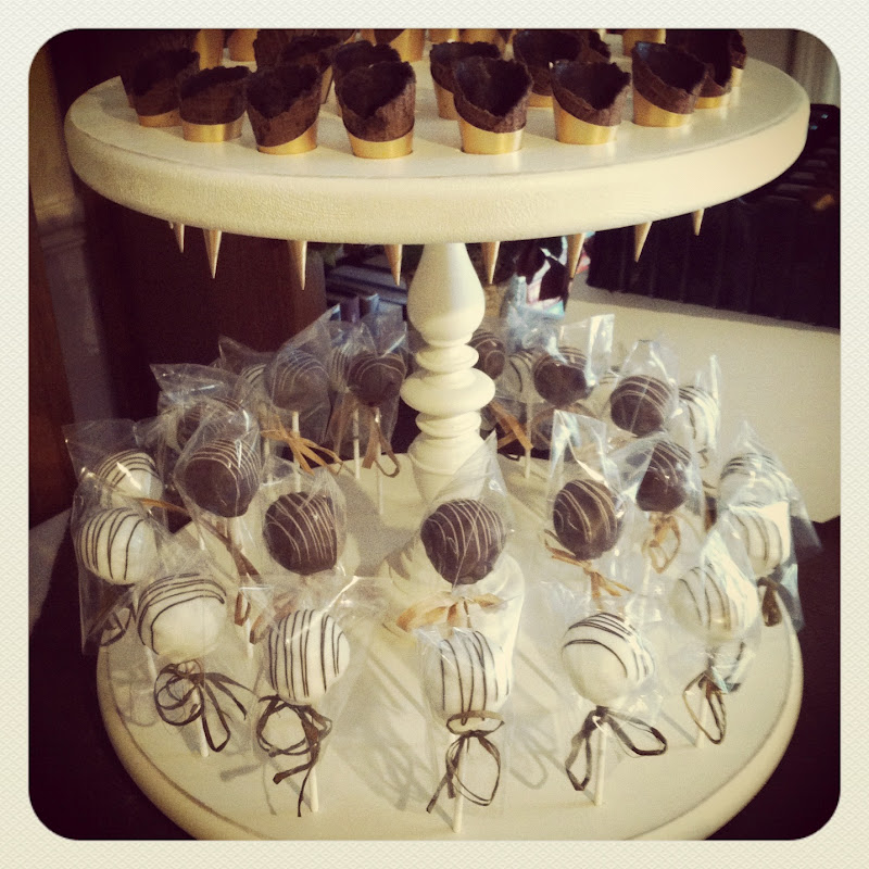 Cake Pops Made Out Of Chocolate