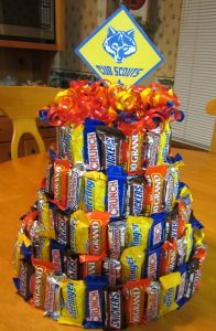Candy Bar Cake Bouquet