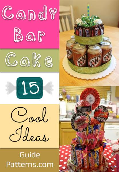 Marvelous Candy Bar Cake 15 Cool Ideas Guide Patterns Funny Birthday Cards Online Bapapcheapnameinfo