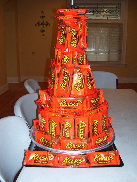 How To Make A Candy Cake Tower